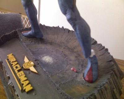 Broken Miracleman Statue