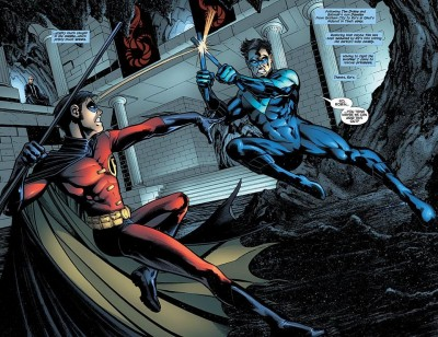 Robin vs Nightwing
