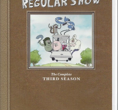TV Noise: Regular Show The Complete Third Season DVD Set