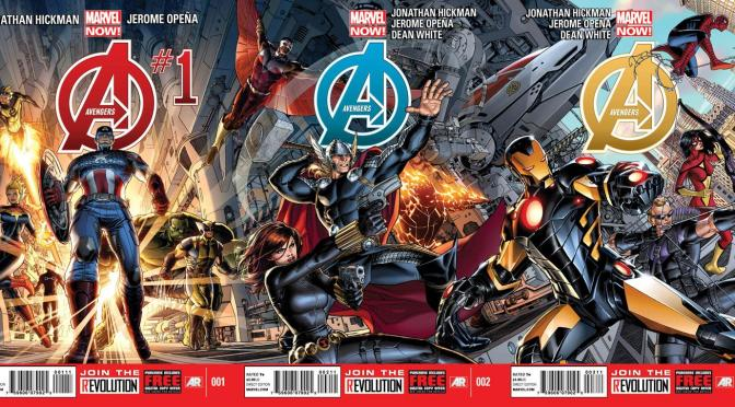 Comic Book Noise 516: The Beginning of Hickman's Avengers run