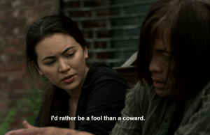 Colleen Wing being mean