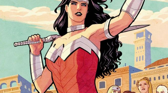Comic Book Noise 814: Wonder Woman, Doom Patrol, and Greg Rucka