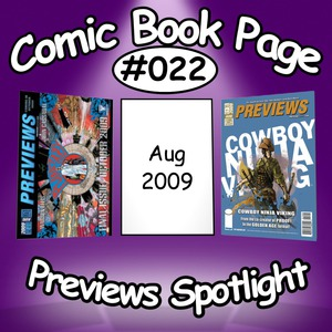 Comic Book Page – Previews Spotlight #022: 2009-08