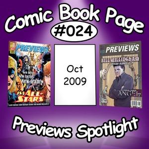 Previews Spotlight #024: 2009-10
