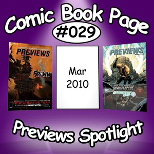 Comic Book Page Previews Spotlight #029: 2010-03