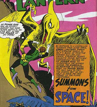 Image result for pterodactyl vs green lantern