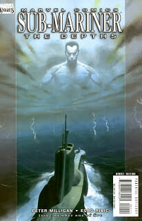 Comic Book Review: Sub-Mariner: The Depths #1