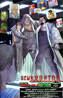 Comic Book Review: Action Comics #873: New Krypton