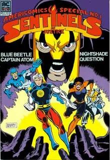 Grant Morrison's Earth Four Charlton Heroes Comic Book
