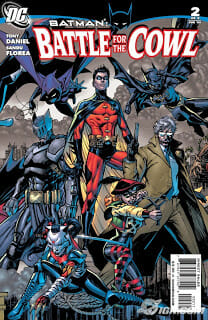 Battle for the Cowl #2 Review