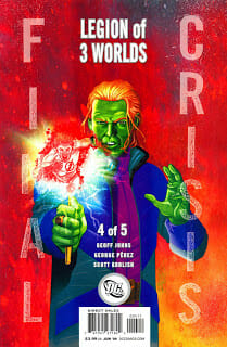 Comic Book Review: Final Crisis: Legion of Three Worlds #4