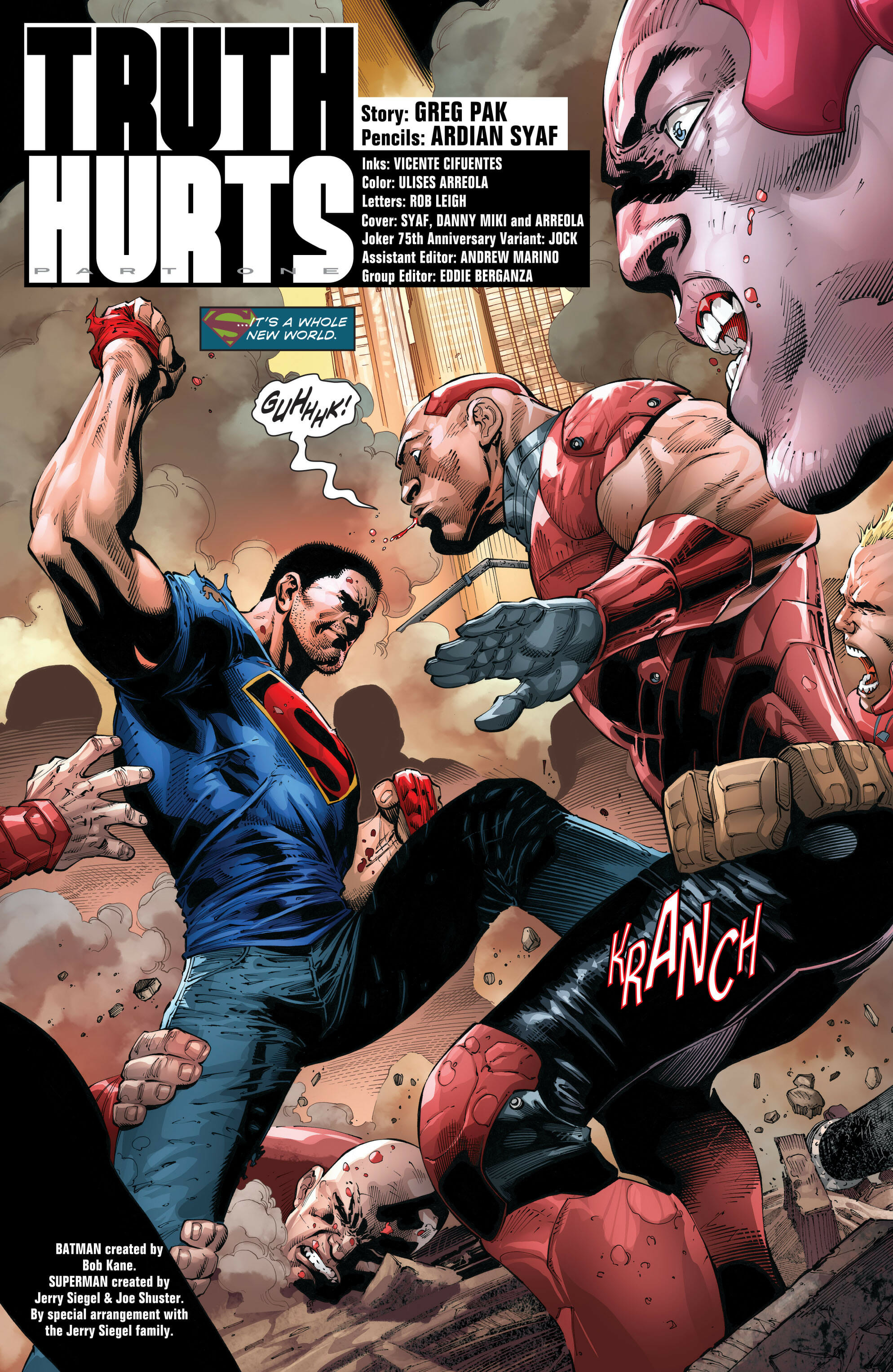 14b0b844 Batman/Superman #21 Review - Comic Book Revolution