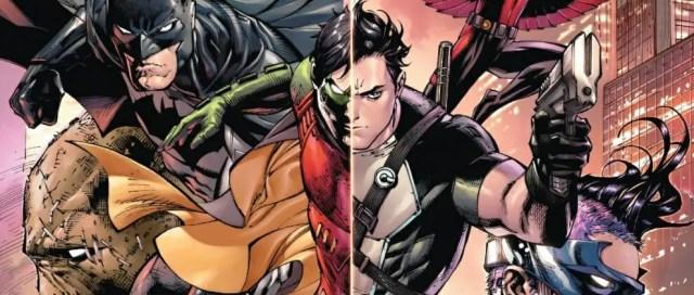 Batman & Robin Eternal #1 Cover