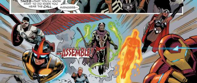 Avengers Standoff - Assault On Pleasant Hill Omega #1 Review