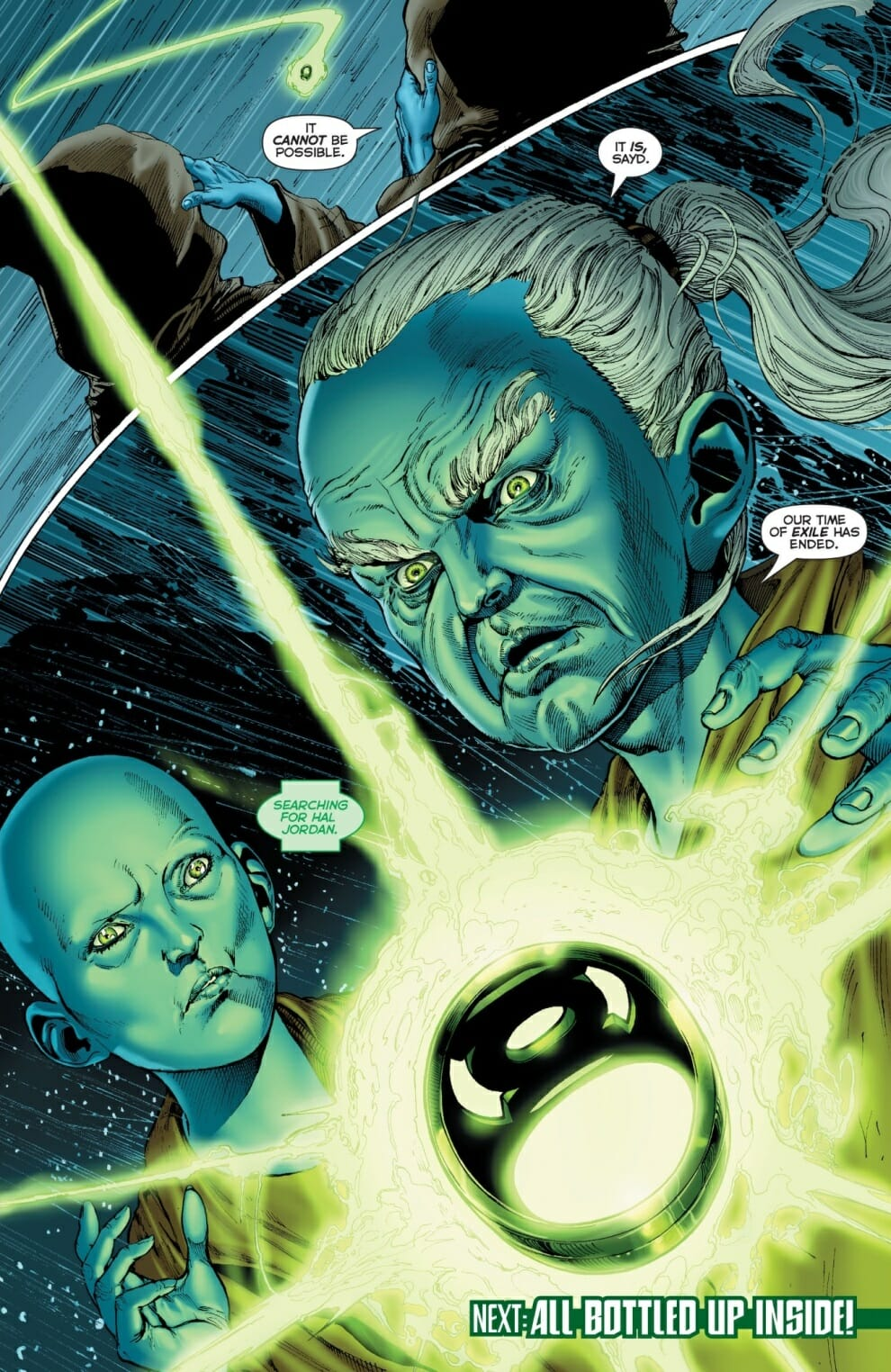The Green Woman The Empress From The Wildwood Tarot: Hal Jordan And The Green Lantern Corps #8 Review