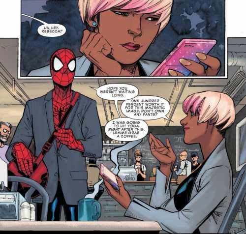 Peter Parker: The Spectacular Spider-Man #2 Moment
