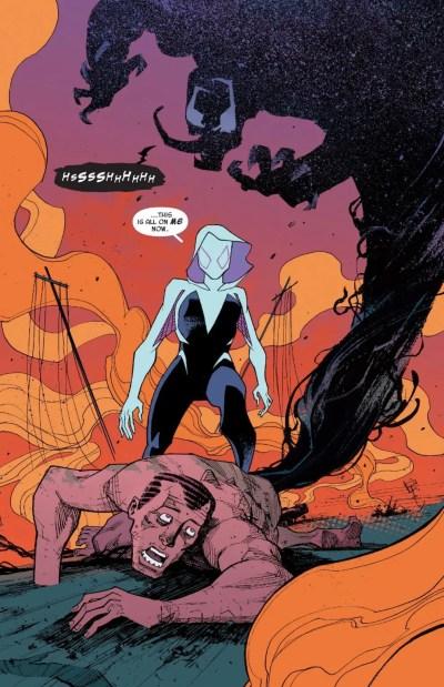 Spider-Gwen #22 Moment