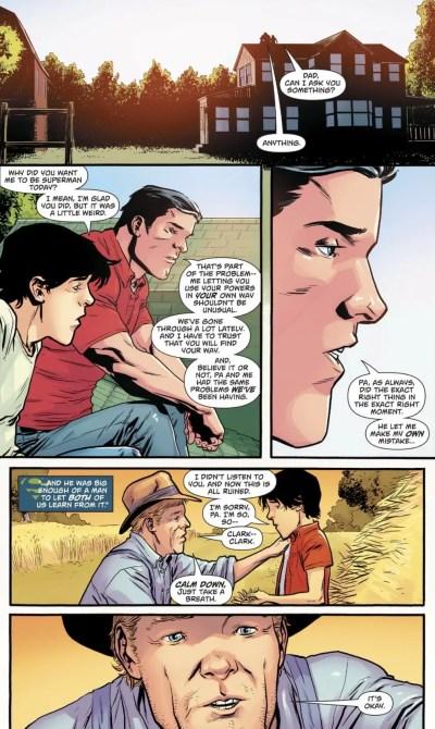 Superman #26 Moment