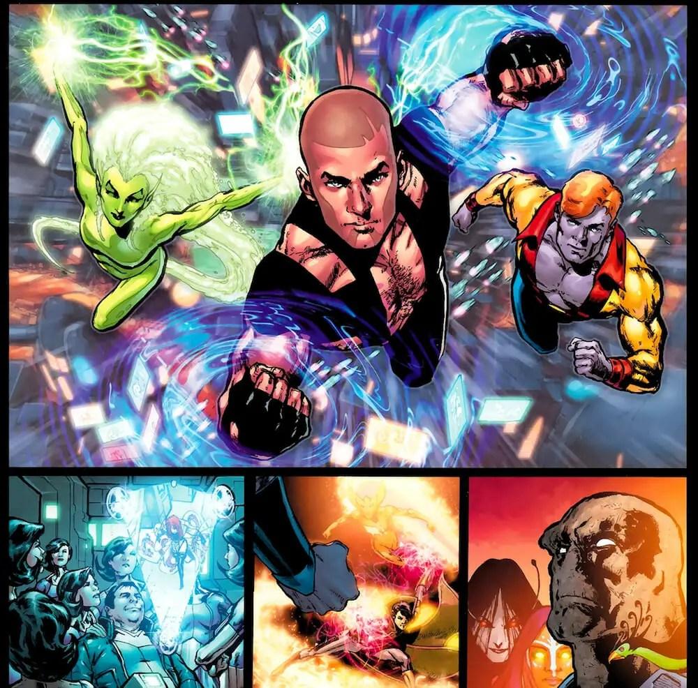 Adventure Comics #523 Review