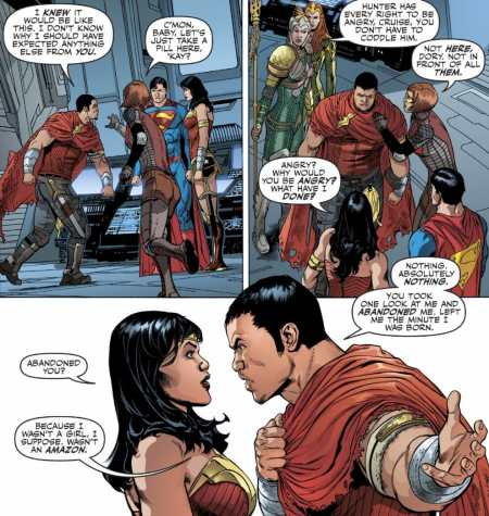 Justice League #27 Moment