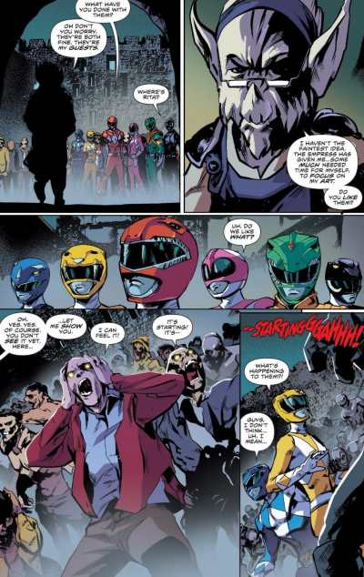Mighty Morphin Power Rangers #18 Moment