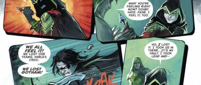 Green Arrow #32: Dark Nights: Metal Tie-In Review