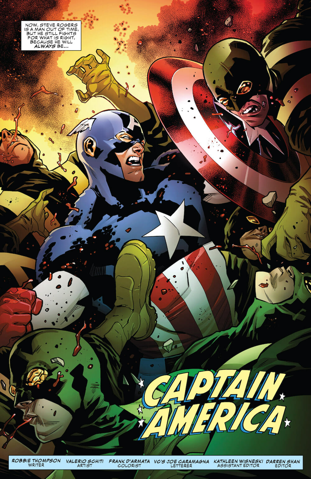 Captain America #695 Review - Comic Book Revolution
