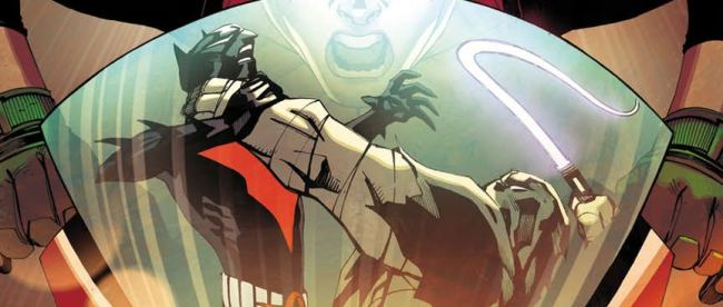 Batman Beyond #19 Cover