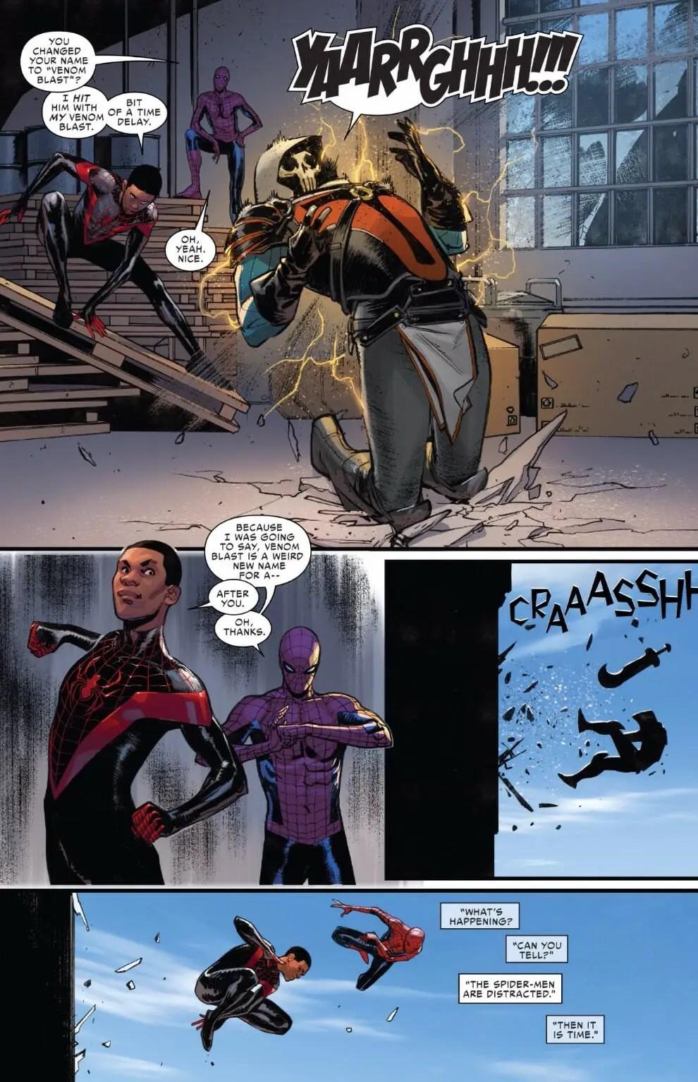 Spider-Men II 5-3 - Comic Book Revolution