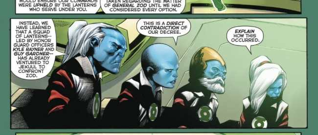 Hal Jordan And The Green Lantern Corps #40 Review