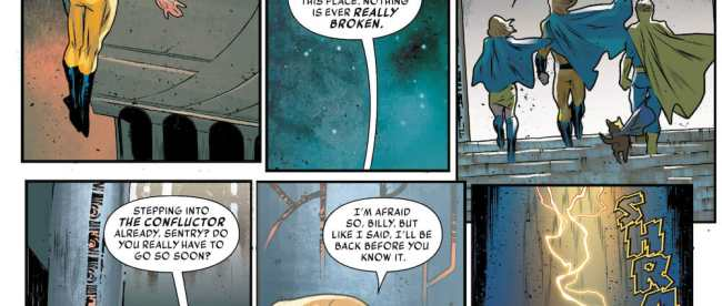 Marvel Comics The Sentry #1 Review