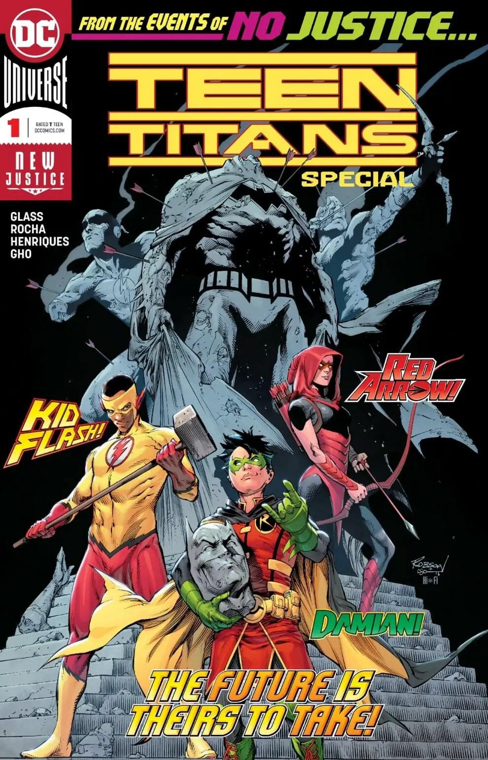 Green Arrow #42 Teen Titans Go Cover DC Comics 2011