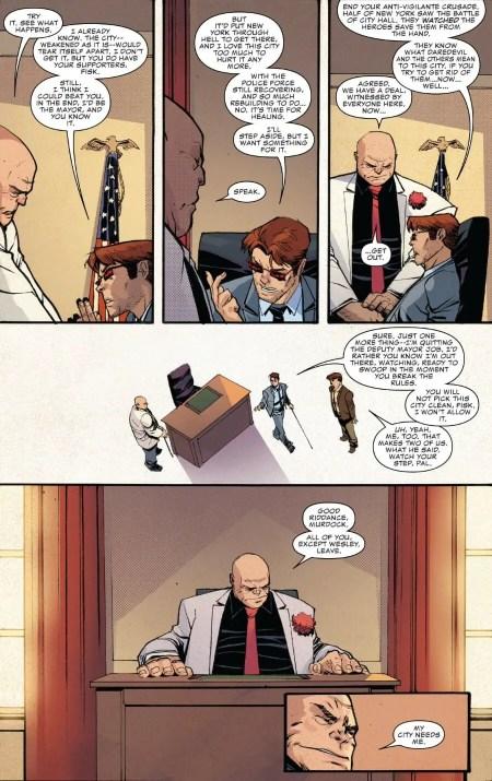 Daredevil #605 Highlight