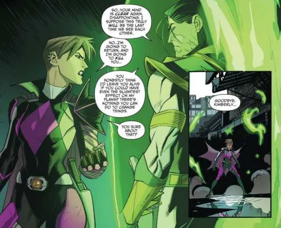 Go Go Power Rangers #11 Highlight