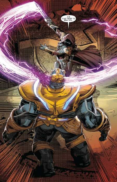 Infinity Wars Prime #1 Highlight