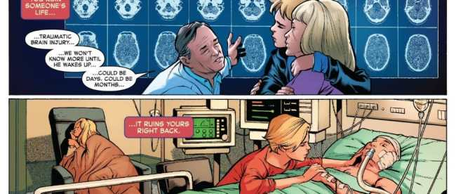 The Life Of Captain Marvel #1 Review