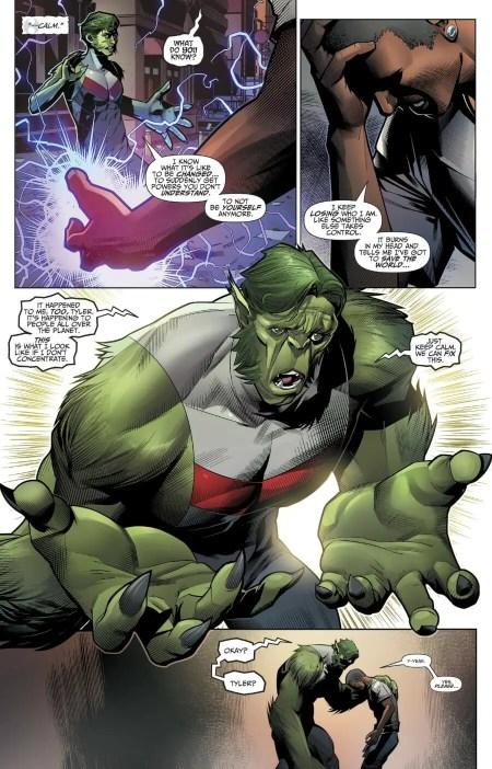 Titans #23 Highlight