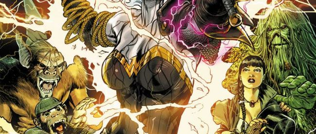 Wonder Woman Justice League Dark Witching Hour #1 Cover