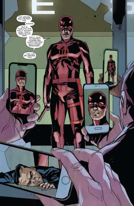 Daredevil 606 Highlight