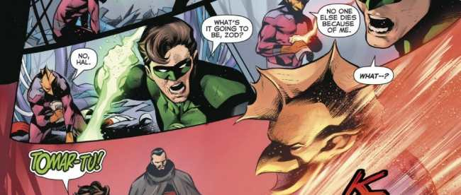 Hal Jordan And The Green Lantern Corps #50 Review