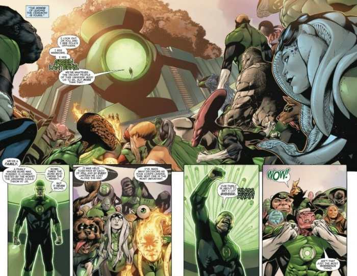 Hal Jordan and the Green Lantern Corps #50 Highlight