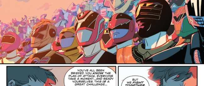 Mighty Morphin Power Rangers #30 Review