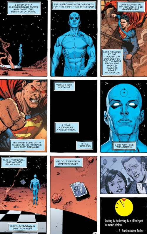 Doomsday Clock #7 Highlight