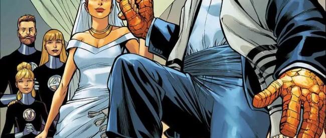 Fantastic Four: Wedding Special 1 Cover