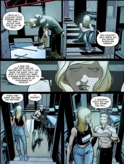 Green Arrow #44 Highlight