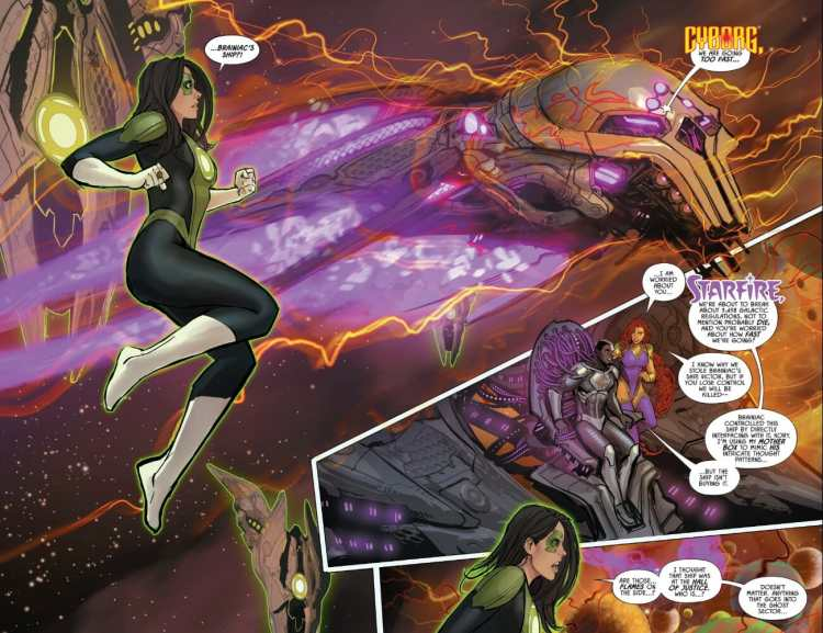 Justice League Odyssey #1 Highlight