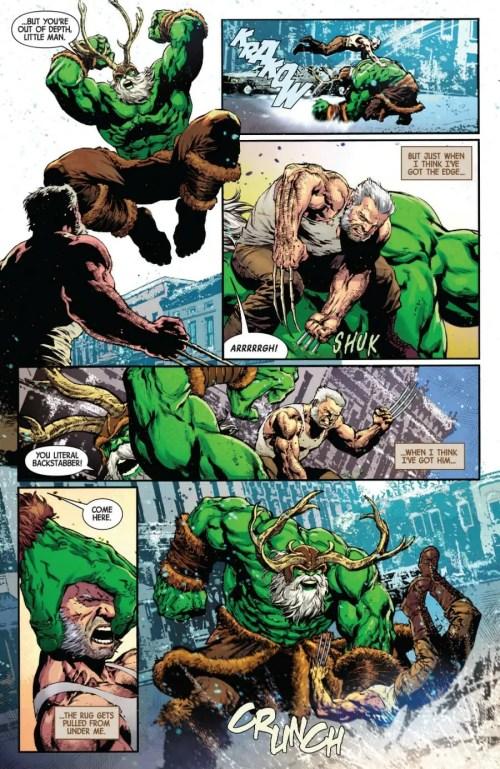 Old Man Logan #48 Highlight