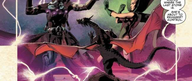 Infinity Wars #4 Review