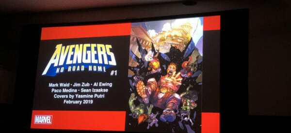 NYCC 2018 Day Three Avengers No Road Home