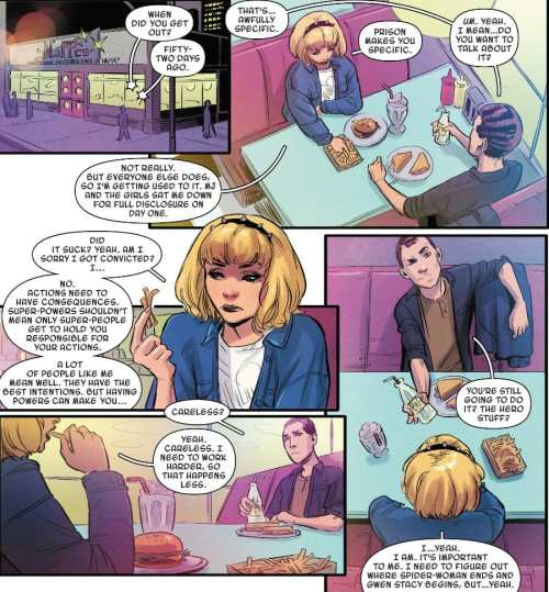 Spider-Gwen: Ghost-Spider #1 Moment